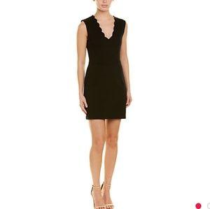 French Connection Lula Stretch Black Dress Size 8